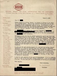 Mr. Vijay Merchant's letter